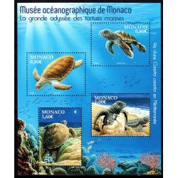 Timbre Monaco n°3031 à 3034...