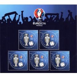 Bloc Feuillet n°5050A UEFA...