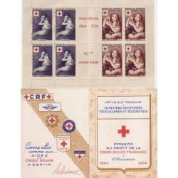 Carnet Croix Rouge n°2003...