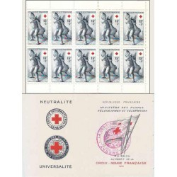 Carnet Croix Rouge n°2004...