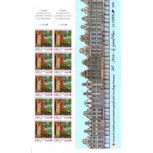 Carnet Croix Rouge n°2043 Timbres neufs ** Année 1994