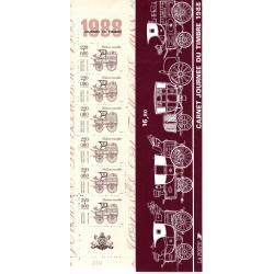 Carnet Commémoratif BC2526A...