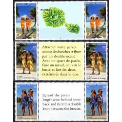 Timbres Polynésie n°365A à...