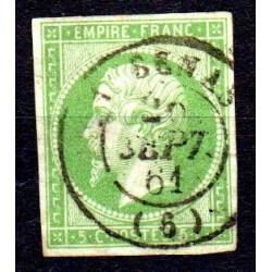 Timbre France Napoléon N°12...