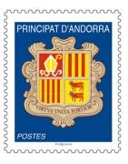 Timbres Andorre chez philarama37