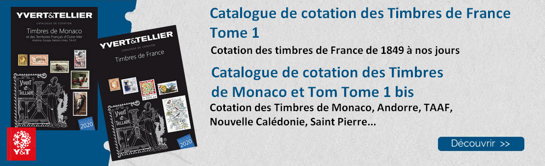 Catalogue de cotation France Tome 1 et Monaco Andorre et Tom Tome 1 bis
